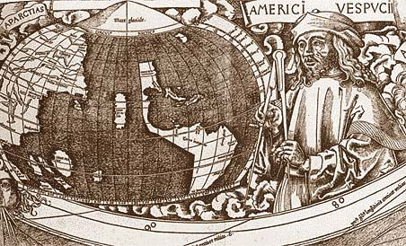Picture Of Amerigo Vespucci Around The World
