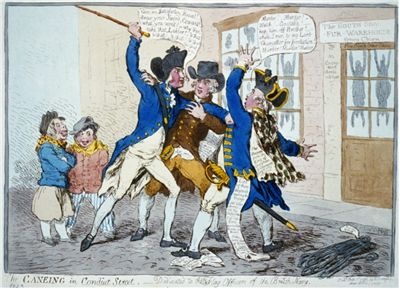 Picture Of Assault On George Vancouver