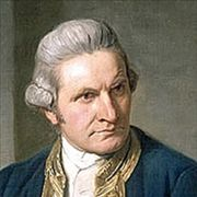 Picture Of Captain James Cook 1775