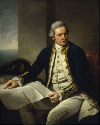 Picture Of Captain James Cook Famous English Explorer