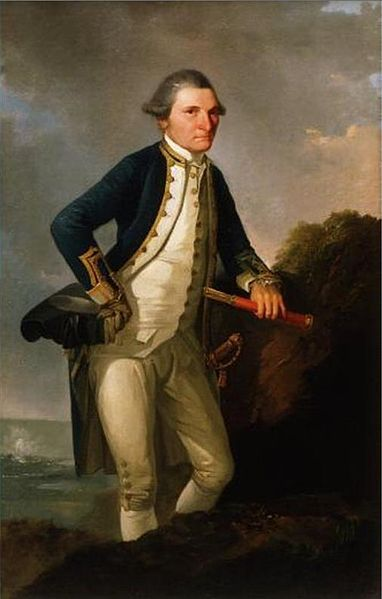 Picture Of Captain James Cook Portrait