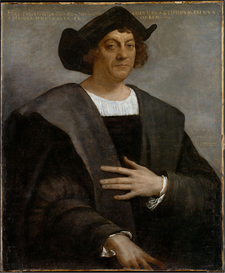Picture Of Christopher Columbus Portrait