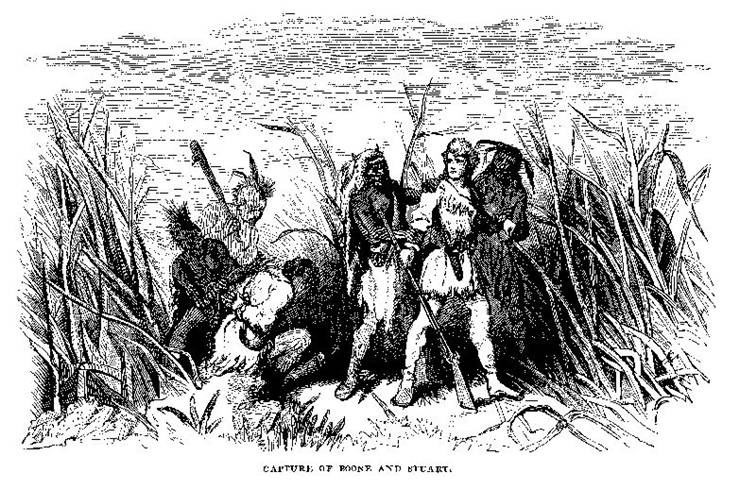 Picture Of Daniel Boone Capture