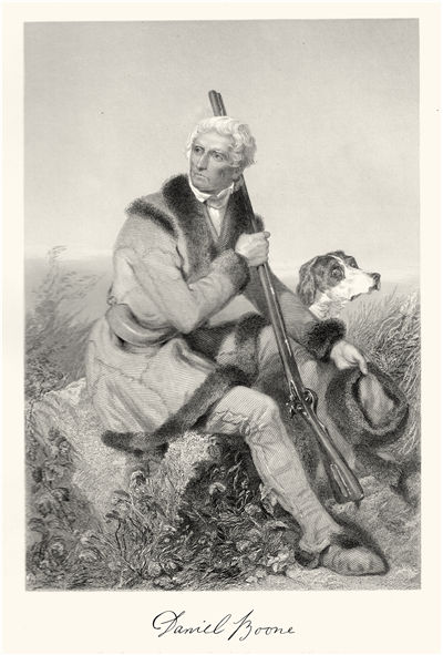 Picture Of Daniel Boone Famous Explorer