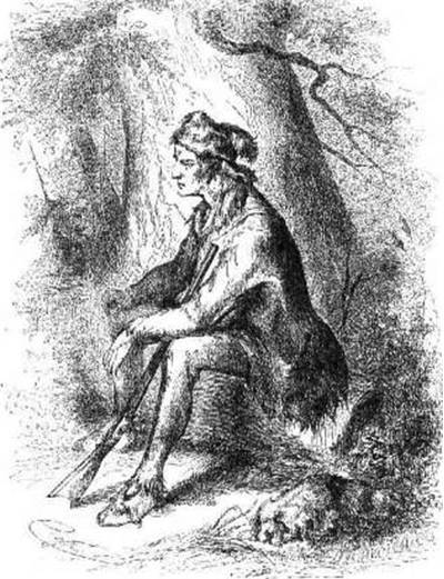 Picture Of Daniel Boone Hunter
