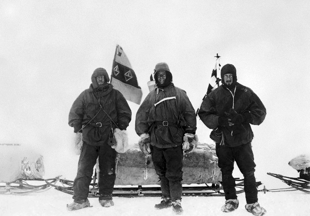 Picture Of Ernest Shackleton Robert Falcon Scott Edward Adrian Wilson.
