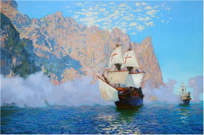 Picture Of Francis Drake Journey