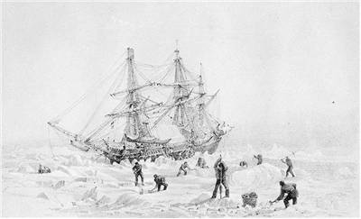 Picture Of George Back Arctic Expedition 1836 37