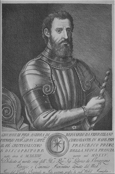 Picture Of Giovanni Da Verrazzano Famous Explorer