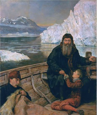 Picture Of Henry Hudson The Last Voyage