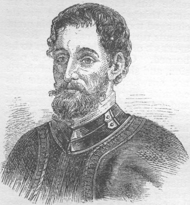 Picture Of Hernando De Soto 1881