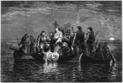 Picture Of Hernando De Soto Burial