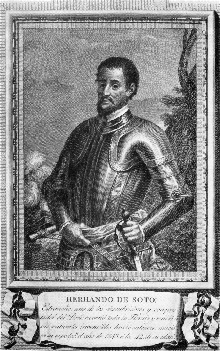 Picture Of Hernando De Soto Portrait.