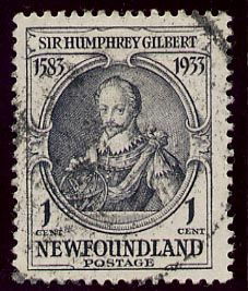 Picture Of Humphrey Gilbert Stamp