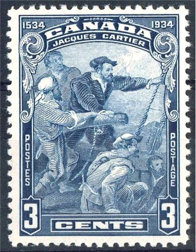 Picture Of Jacques Cartier Stamp 1934