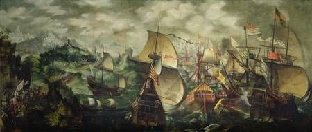 Picture Of John Hawkins And The Spanish Armada