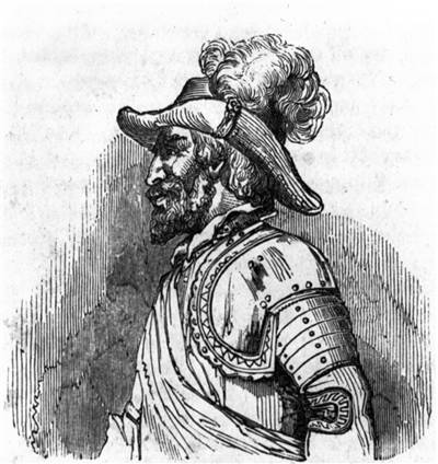 Picture Of Juan Ponce De Leon Engraving
