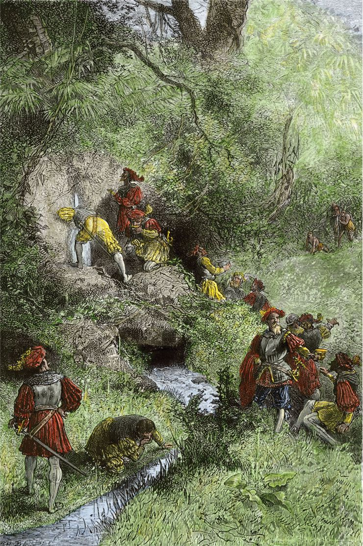 Picture Of Juan Ponce De Leon Exploration Of Florida