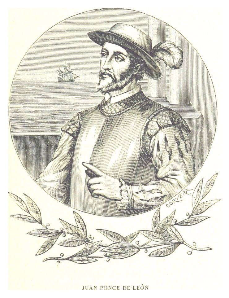 Picture Of Juan Ponce De Leon First European Expedition To America