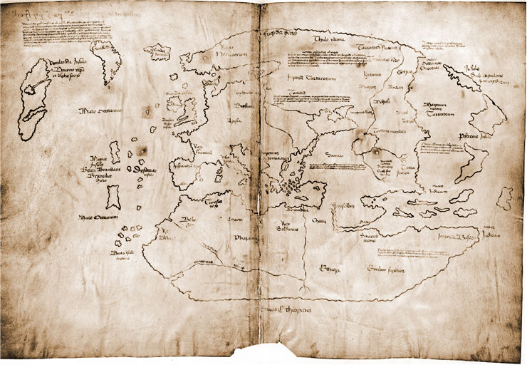 Picture Of Leif Erikson The Vinland Map