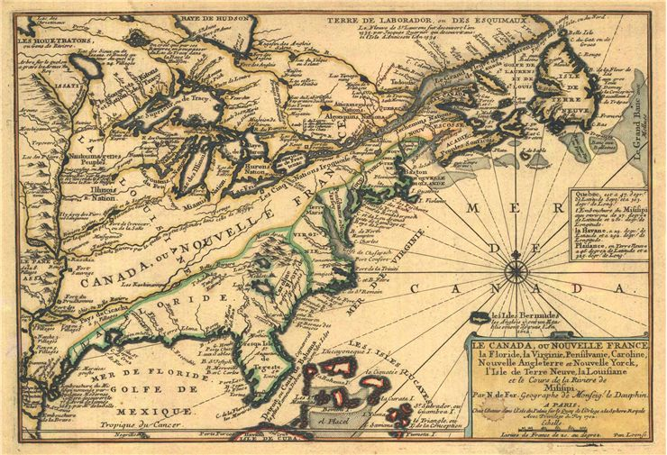 Picture Of Louis Jolliet Map Of New France