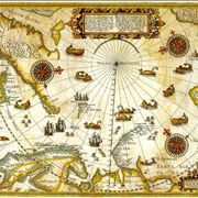 Picture Of Map Of Arctic Exploration