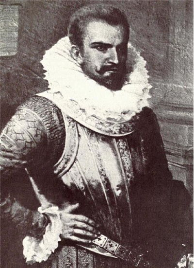 Picture Of Pedro De Alvarado Portrait