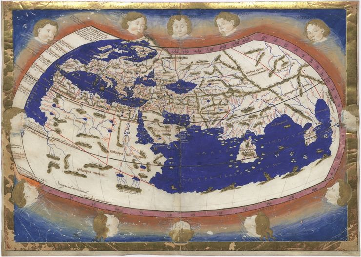 Picture Of Ptolemy World Map 1467