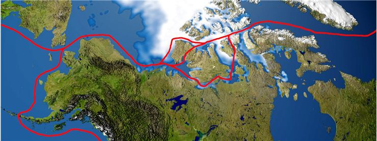 Picture Of Ranulph Fiennes Northwest Passage Routes