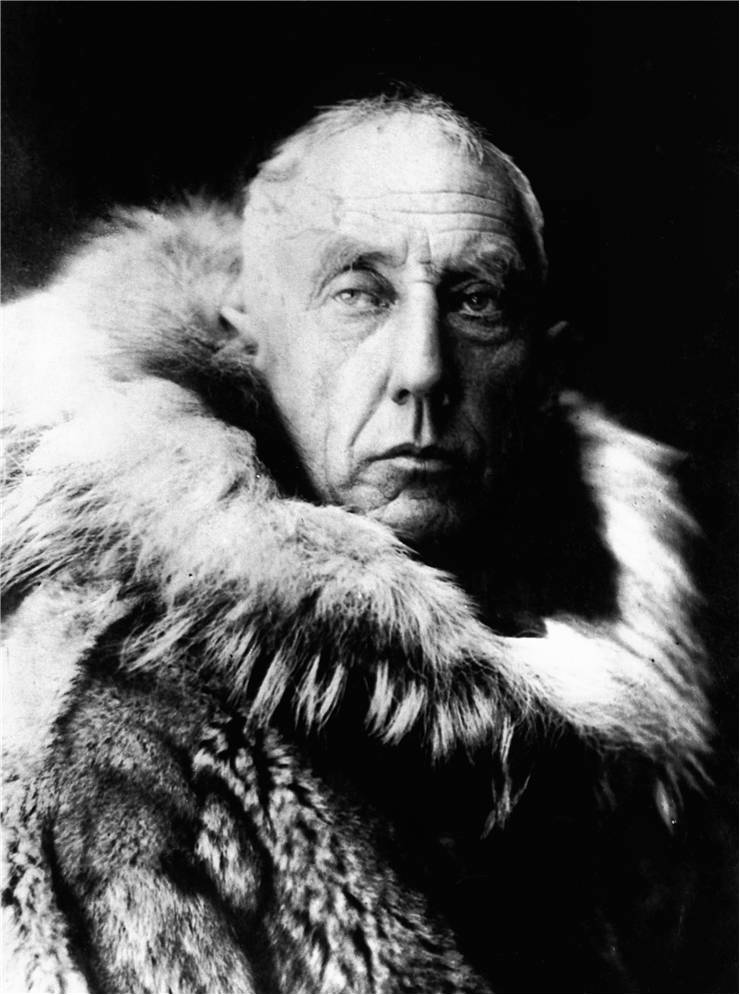 Picture Of Roald Amundsen Explorer