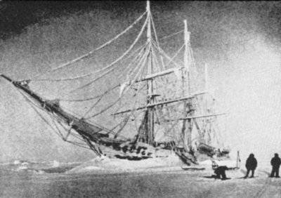 Picture Of Roald Amundsen Frozen Ship