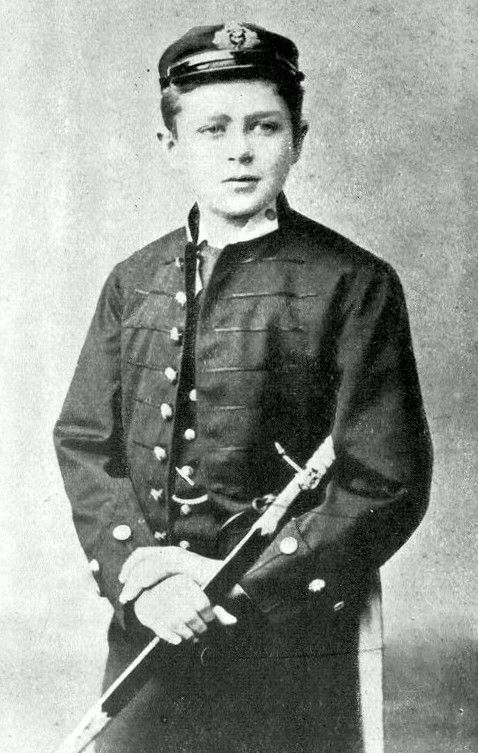 Picture Of Robert Falcon Scott Aged Thirteen