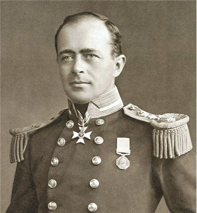Picture Of Robert Falcon Scott English Explorer