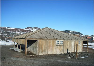 Picture Of Robert Falcon Scott Hut Remaining From The Discovery Expedition