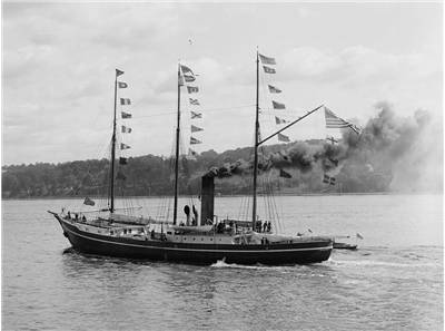Picture Of Robert Peary Steamer Roosevelt