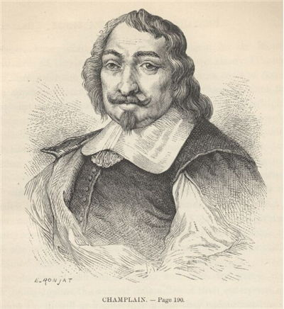 Picture Of Samuel De Champlain French Explorer