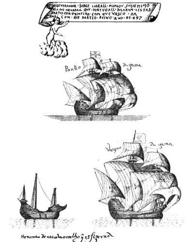 Picture Of Ships Used By Vasco Da Gama On His First Voyage