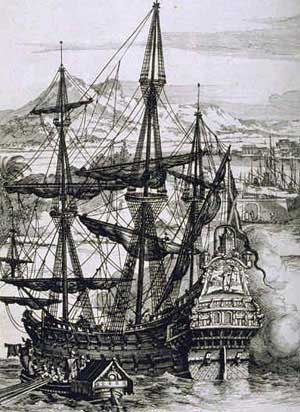 Picture Of Thomas Cavendish Manila Galleon