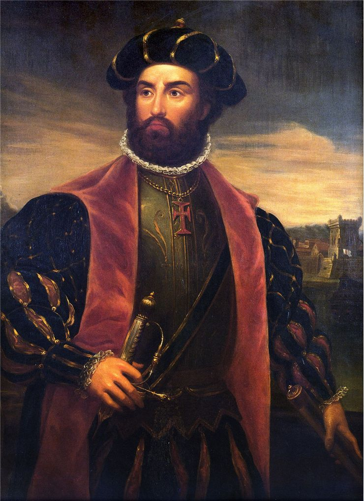 Picture Of Vasco Da Gama 1838