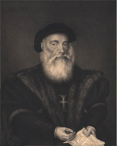 Picture Of Vasco Da Gama Famous Explorer
