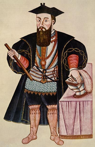 Picture Of Vasco Da Gama Portuguese Explorer