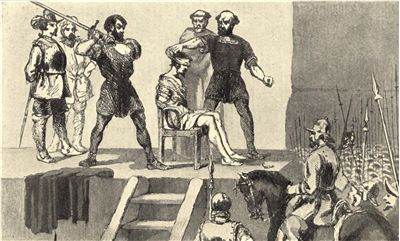 Picture Of Vasco Nunez De Balboa Execution